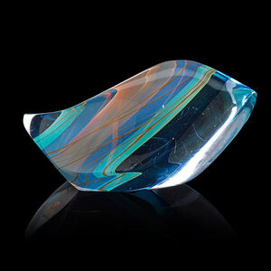 Blue Curvilinear Form, USA