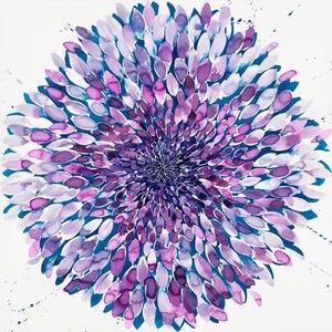 Big Lavender Flower