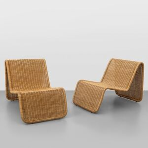 A pair of 'BR 3' lounge chairs