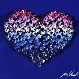 Heart Mini -Pink/Blue