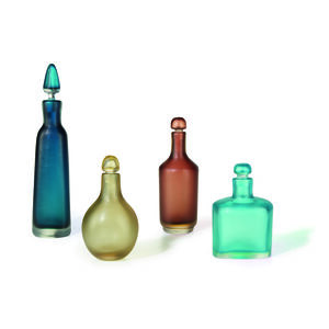 Collection of Four Inciso Bottles, Italy