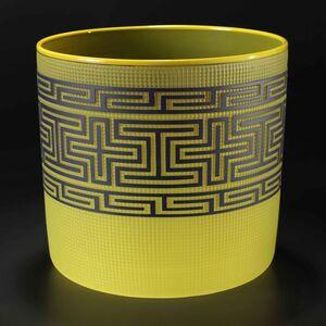 Tlingit Basket Bright Green / Lemon