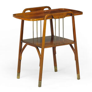 Thonet Two-Tiered Tea Table