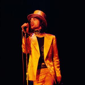 Mick Jagger on Stage, Copenhagen, 1970