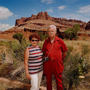 Couple at Capitol Reef National Park, Utah