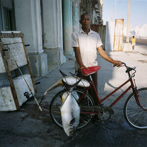 Fisherman on the Malecon, Havana