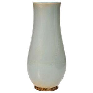 """Alga"" glass monumental vase"