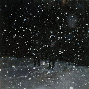 Night Snow Globe