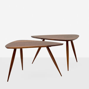 Pair of Occasional Tables by Phillip Lloyd Powell