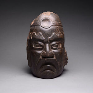 Olmec Sculpture of the Supreme God: the Jaguar
