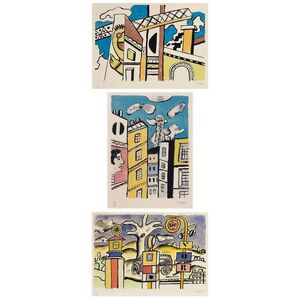 Construction; Les Pompes A Essence; Tour Eiffel (Saphire Pp. 238; 286-87)