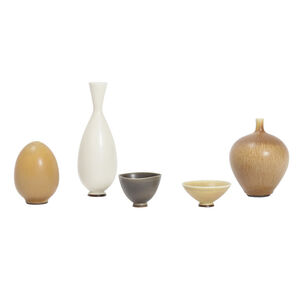 Set of 5 ceramics