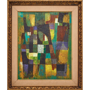 Untitled abstract painting, USA