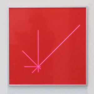 Spiralprogression 50 x 50 cm Acrylglas 2010