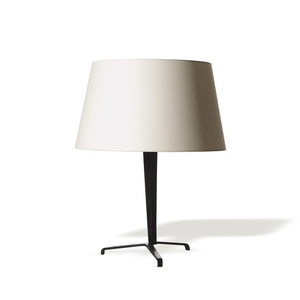 Table lamp with iron tripod base (avail. single or pair)