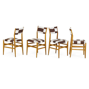 Four Leggera Chairs, Italy