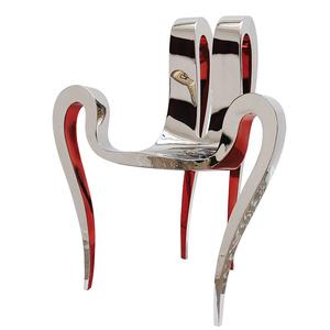 """Chair""""Stiletto heel"""" - Red edition"""