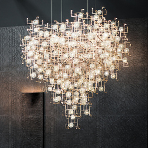 FRAGILE FUTURE DIAMOND CHANDELIER