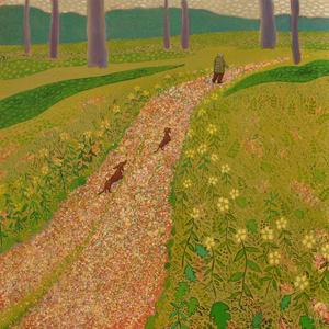 Hockney's Dogs (woods)