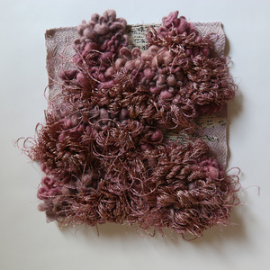 Untitled III (cochineal and logwood)