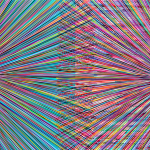 Dual Event (Square Teal Multi)
