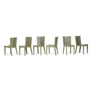 Set Of Six Side Chairs, New York