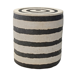 STRIPE DRUM TABLE