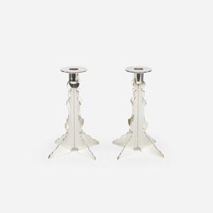 Candlesticks, pair