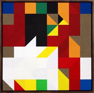 Chess Painting No. 59 (Duchamp vs. Steiner, Paris 1924)