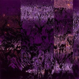 ARTIFICIAL LANDSCAPE- Neo-Geo Purple