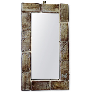 Ceramic Frame Mirror