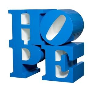 Hope, Blue/White