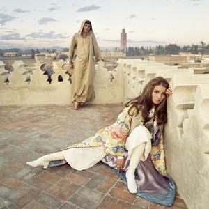 Paul & Talitha Getty, Marrakech, Morocco