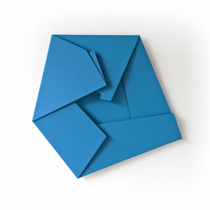Large Blue Folded Flat 01