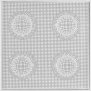 4 Esferas Espaciales (Blanco)
