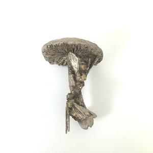 Bees on mushroom hollow