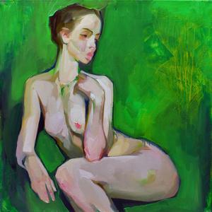 Nude in Green