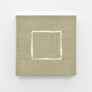 Composition for Woven Square Outline (White)