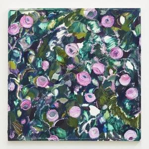 Mirror rose garden