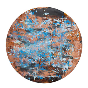 Copper Abstract