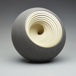 Deep Twist (grey/cream)