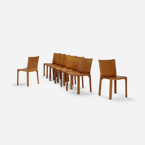 Cab chairs, set of eight