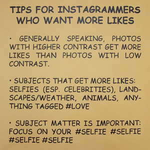 Tips For Instagrammers Who Want More Likes (After Baldessari)