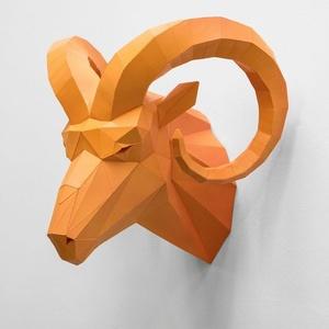 Ram Head (orange)