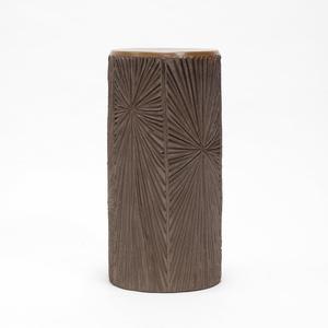 'Sunburst' Design Ceramic Lamp Base