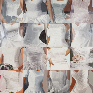 White on White (Sixteen Wedding Dresses) III