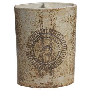 Large Ceramic Double Vase