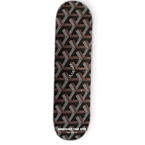 Brown David Weeks NYC Printed Deck
