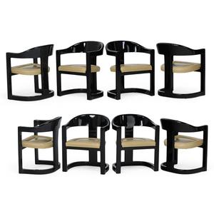 Set Of Eight Onassis Chairs, New York