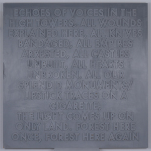 Echoes of Voices in the High Towers